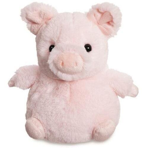 Aurora stofftier Cuddle Pals Schwein 18 cm Plüsch rosa