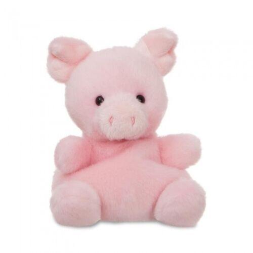 Aurora kuscheltier Palm Pals Schweinepalme rosa 13 cm