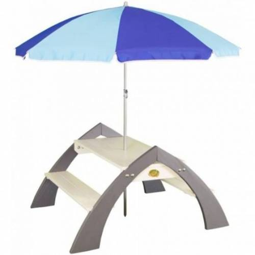 AXI Kylo XL Picknicktisch mit Sonnenschirm S