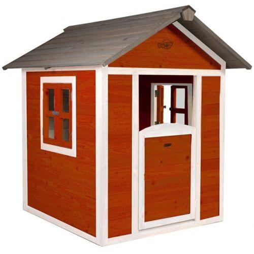 AXI spielhaus Lodge Sunny 135 x 111 x 133 cm 100% FSC Holz rot