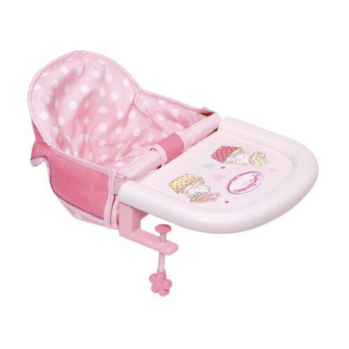 Baby Annabell hochstuhl rosa für Puppe bis 46 cm