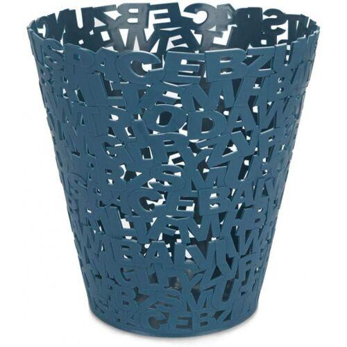 Balvi papierkorb Letters 11 x 5,5 cm blau