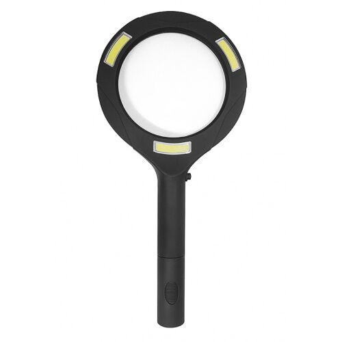 Balvi lupe mit Licht Zoom 24 x 11,2 cm ABS schwarz