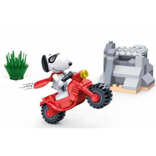 BanBao Bausatz Snoopy Stunt Motor 56 teilig
