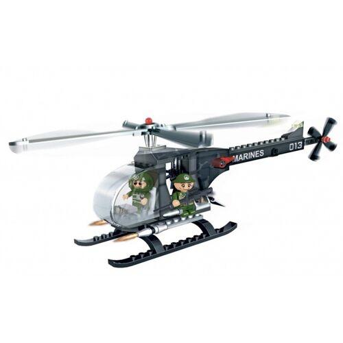 BanBao verteidigungskraft M2 Hubschrauber Bausatz 90teilig