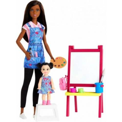Barbie teenager Puppe You can be anything: Kunstlehrer 30 cm