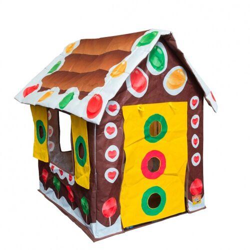 Bazoongi Kids spielzelt Lebkuchenhaus 60 x 37 x 17 cm