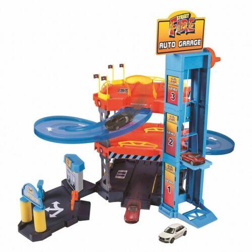 Bburago autogarage Spielset 1Street Fire:43 mehrfarbig