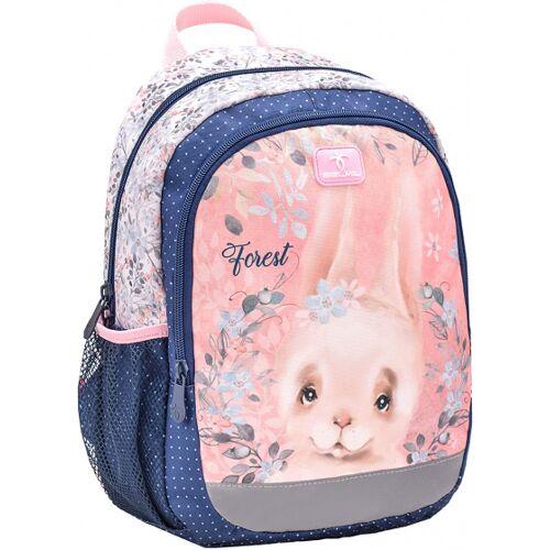 Belmil rucksack Kaninchen 33 x 13 cm Polyester 12 Liter rosa/blau