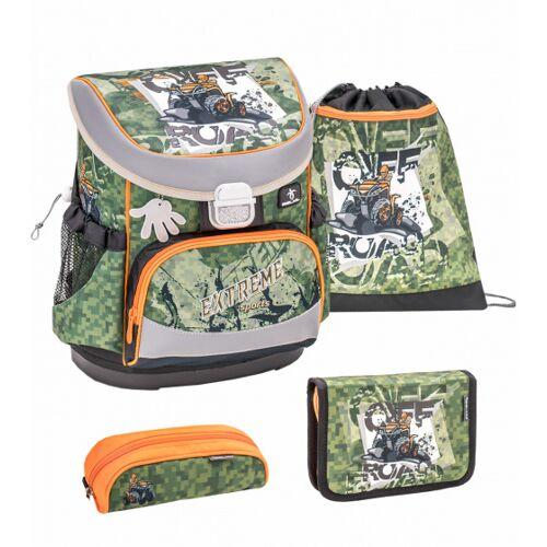 Belmil rucksack Set Extreme Off 17 Liter Polyester grün 4 tlg