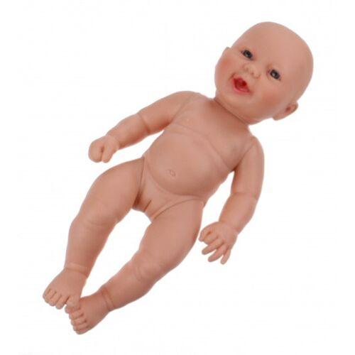 Berjuan baby Puppe Newborn 30 cm Mädchen Vinyl nackt
