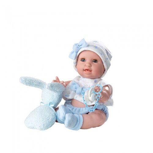 Berjuan lebensechte Puppe Susu 38 cm blau