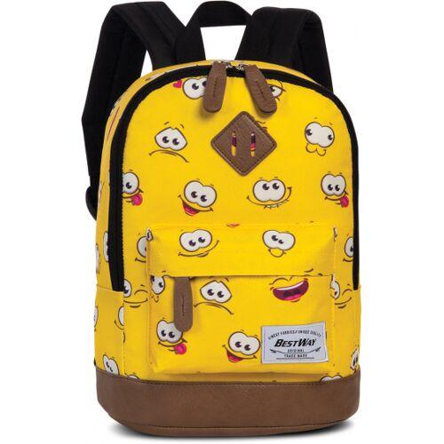 Bestway rucksack Smileys 6 Liter gelb