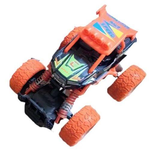 Big Wheels World crossauto Jungen 11,5 cm Stahl orange