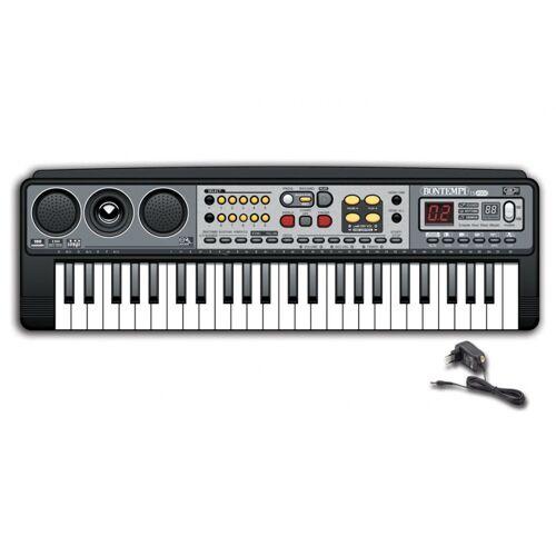 Bontempi digital Tastatur 54 cm schwarz
