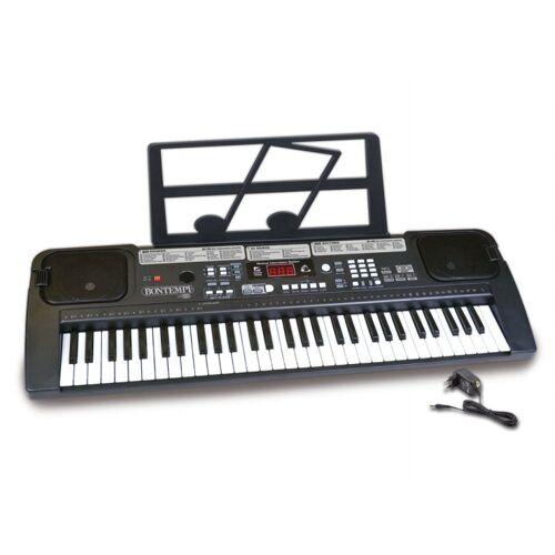 Bontempi digital Tastatur 61 Tasten 70 cm schwarz