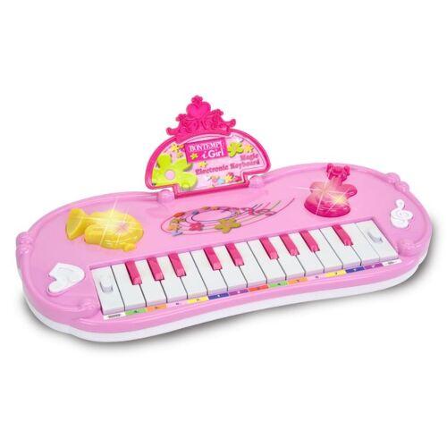 Bontempi tastatur 22 Tasten rosa 32,5 cm