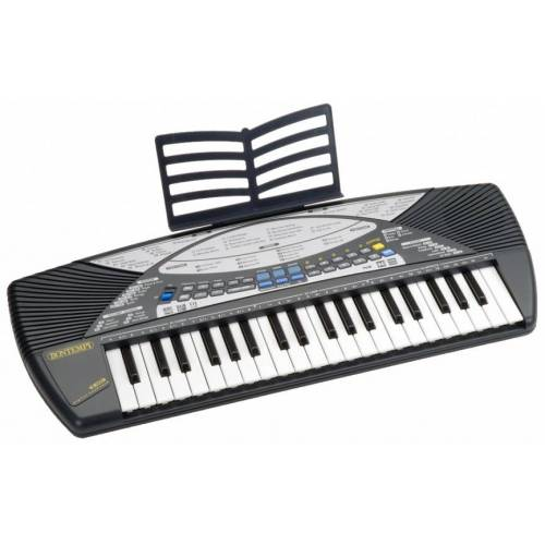 Bontempi Digital Keyboard 40 Tasten grau 68 cm