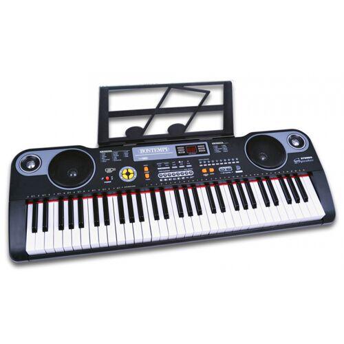 Bontempi tastatur Digital junior 86 cm schwarz 3 teilig