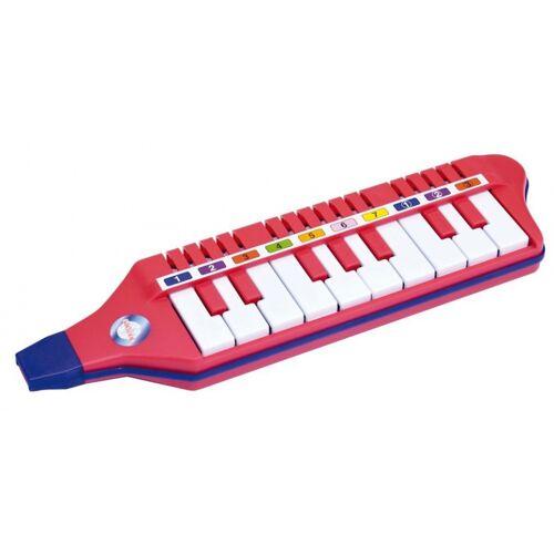 Bontempi mund Klavier 17 Tasten 30 cm rot