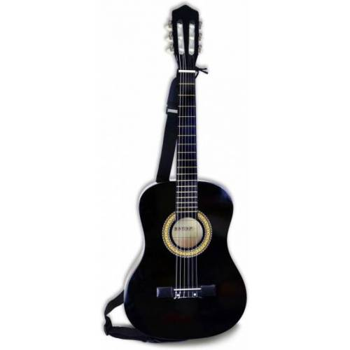 Bontempi Spanische Holzgitarre schwarz 92 cm