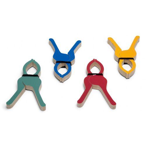 BS Toys zeltschellen 9 x 14 cm Holz 4 Stück