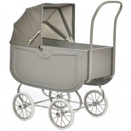 byAstrup vintage Puppen Kinderwagen grau 64 cm