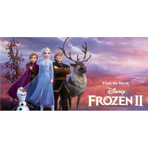 Carbotex strandhandtuch Disney Frozen II 140 x 70 cm Polyester