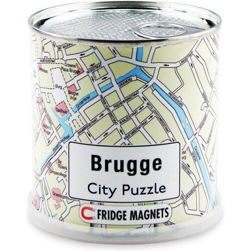 City Puzzle magnetpuzzle Brügge 100 Teile