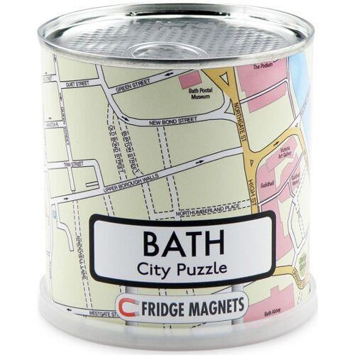 City Puzzle magnetpuzzle Bad 100 Teile