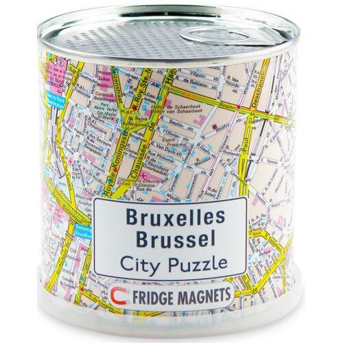 City Puzzle magnetpuzzle Brüssel 100 Teile