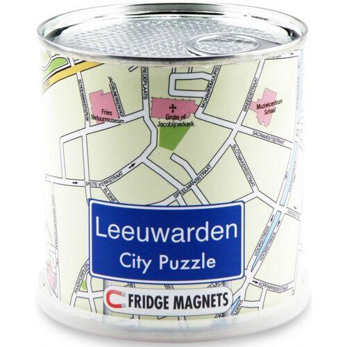 City Puzzle magnetpuzzle Leeuwarden 100 Teile