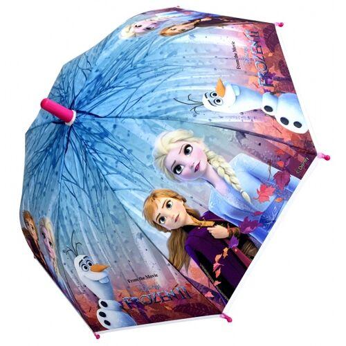 Chanos regenschirm Frozen 2 Mädchen 46 cm rosa/blau