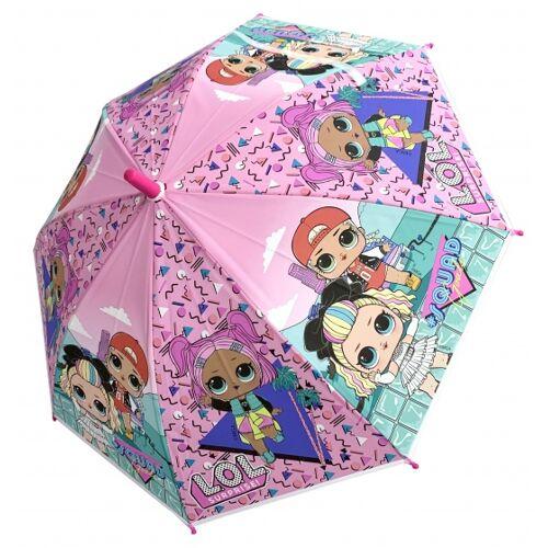 Chanos regenschirm LOL Mädchen 65 cm rosa