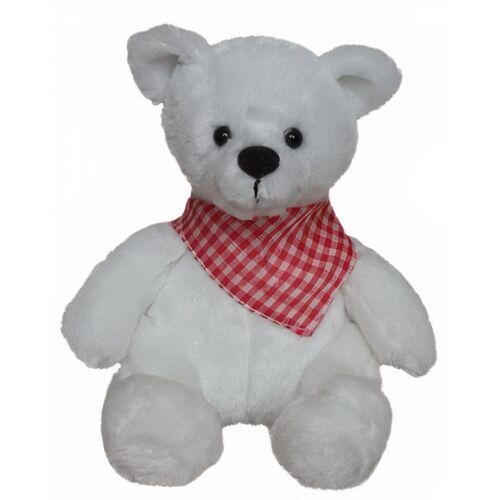 Clemens teddybär Kleiner Bär junior 18 cm Plüsch weiß