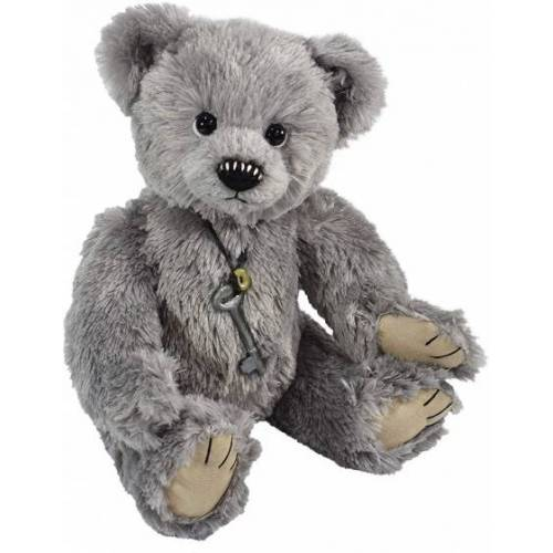 Clemens teddybär Teddy Kuno junior 42 cm Plüsch grau