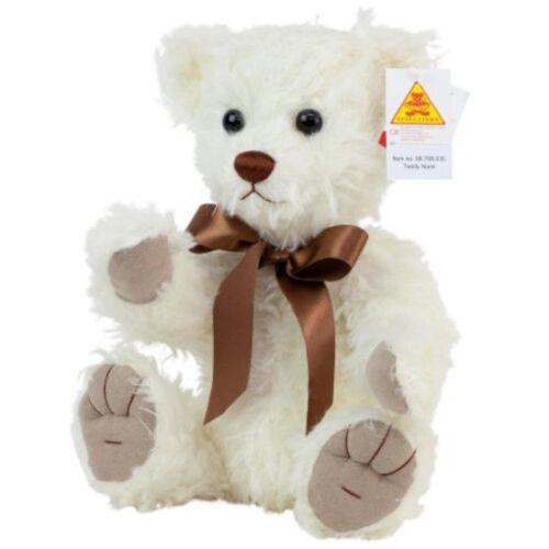 Clemens teddybär Teddy Nomi junior 35 cm Plüsch weiß