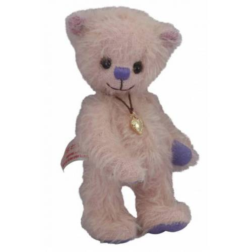 Clemens teddybär Teddy Rose junior 15 cm Plüsch lachsrosa