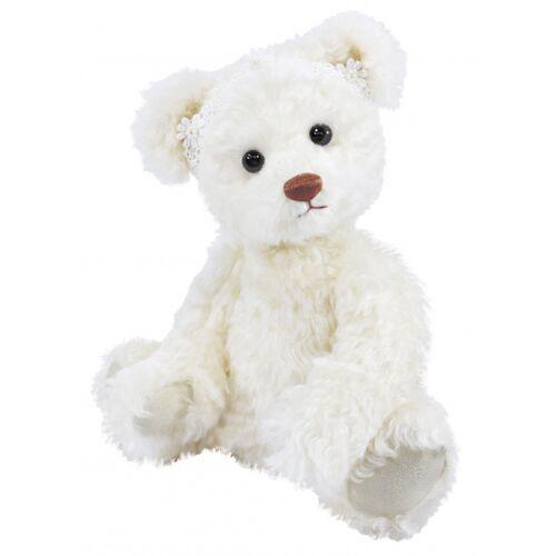 Clemens teddybär Teddy Thea junior 38 cm Plüsch weiß
