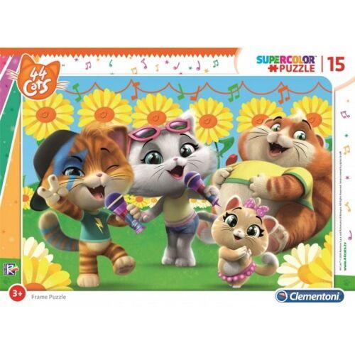 Clementoni stichsäge 44 Cool Cats Microfoon 15 Stück