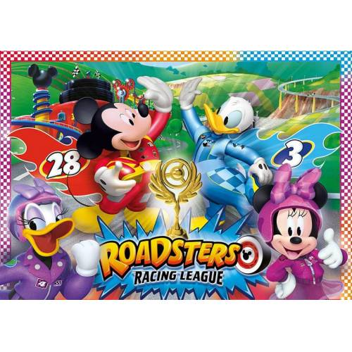 Clementoni puzzle Trophäe Mickey Mouse 15 Teile