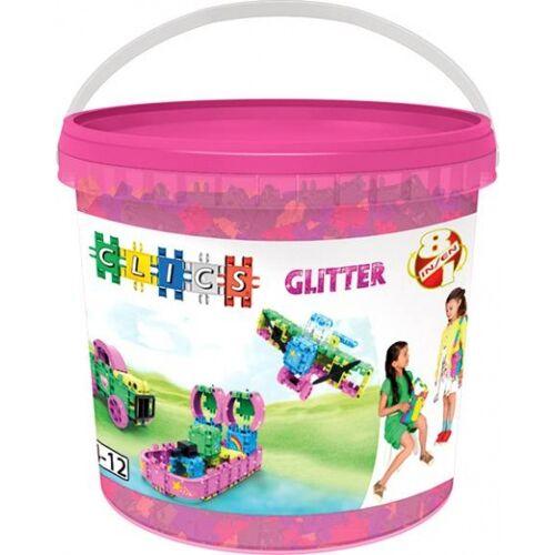 Clics Eimer 8 in 1  Glitter
