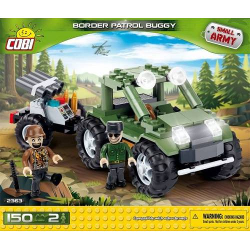 Cobi Small Army Border Patrol Buggy Kit 150 teilig 2363