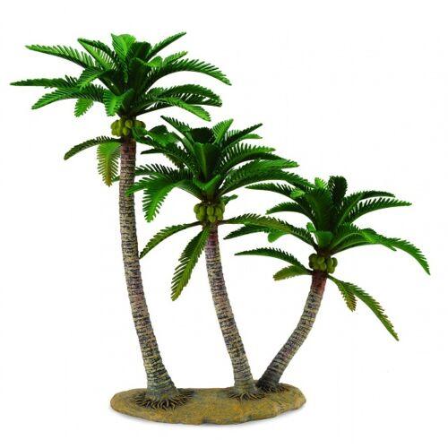 Collecta bomen: Kokosnusspalme 29,5 cm braun/grün