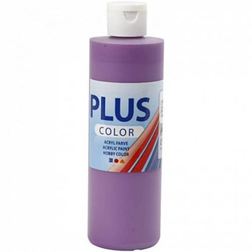 Creotime acrylfarbe 'Plus Color' dunkellila 250ml