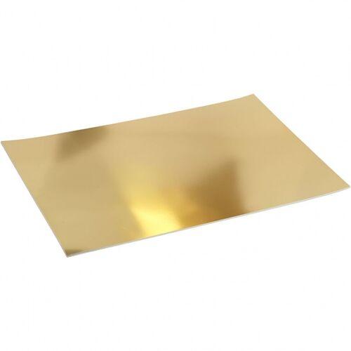 Creotime folienkarton A2 Gold 10 Stück