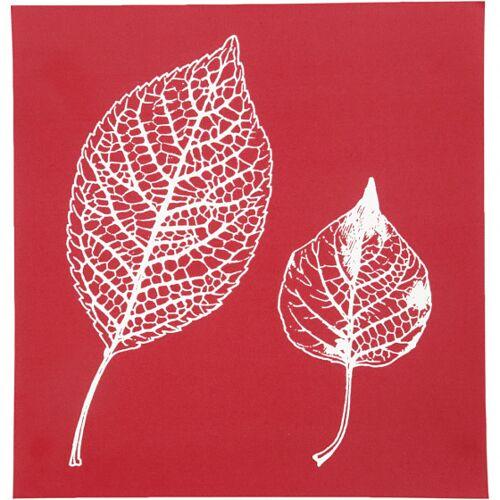 Creotime siebschablonenblätter 20 x 22 cm