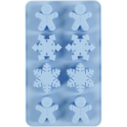 Creotime silikonformen 45 x 30 cm blau