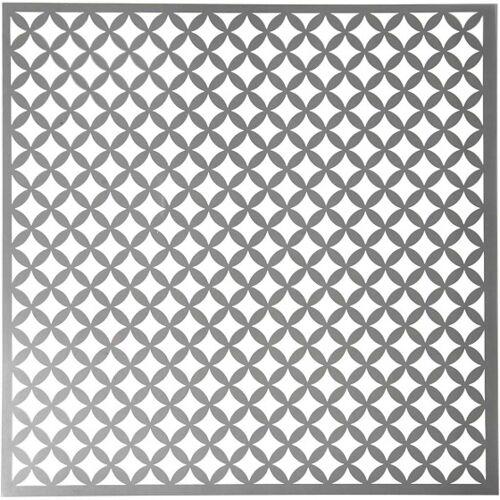 Creotime schablonenbogen runde Quadrate 30,5 x 30,5 cm