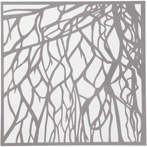 Creotime schablonenbogen Karotte 30,5 x 30,5 cm